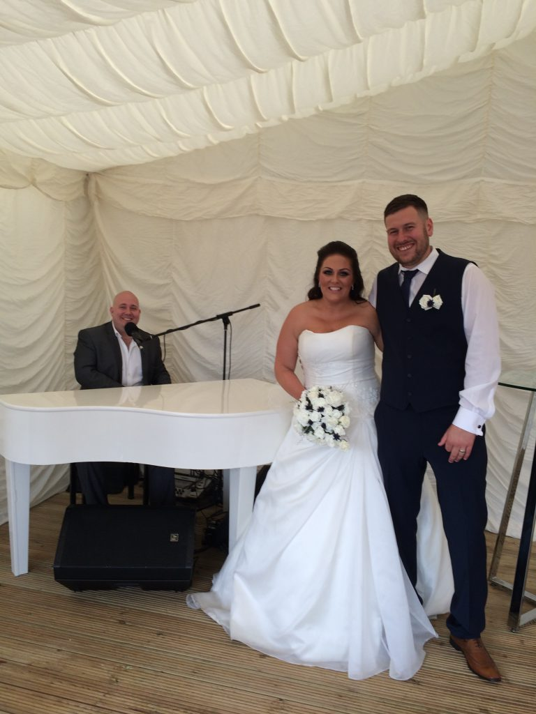 Berrington Hall Wedding Piano