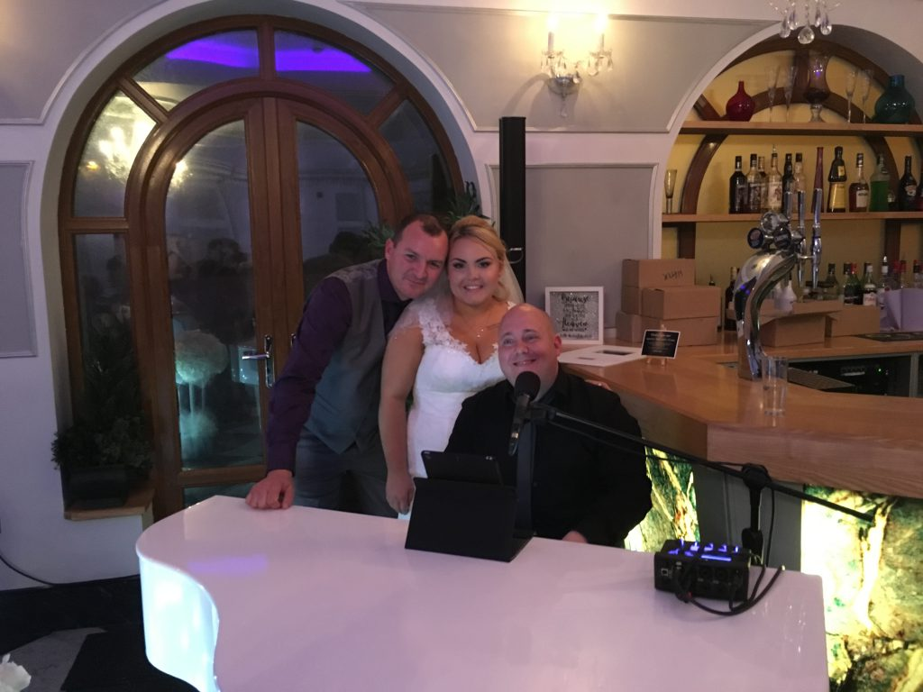 Mark the Piano Guy and Mrs & Mrs Armitage at The White Heart of Penistone