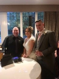 Mark the Piano guy at Mere court with Mr & Mrs Kirkby Richardson